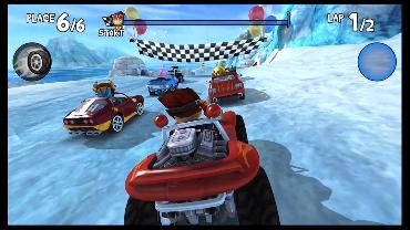 Chunkeh Munkeh playing Beach Buggy Racing