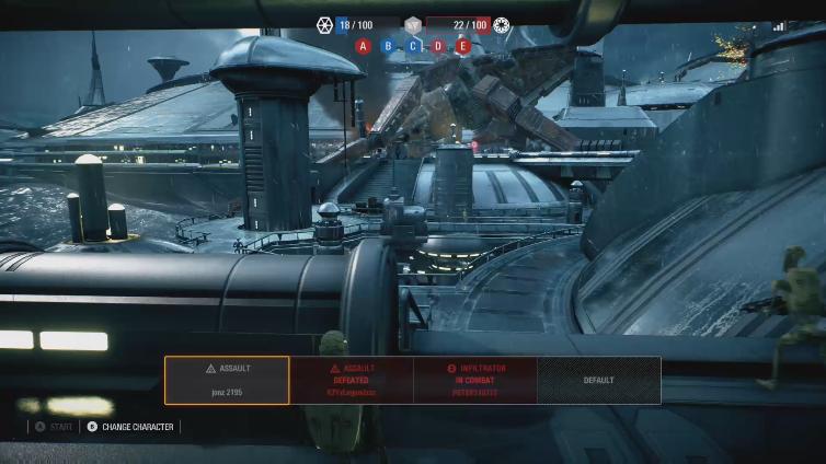 GrandBahookii playing Star Wars Battlefront II