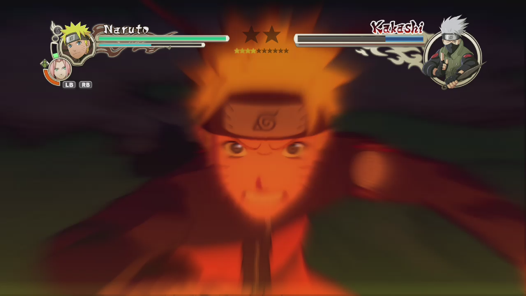 Marcus BWFC playing Naruto Shippuden: Ultimate Ninja Storm 2