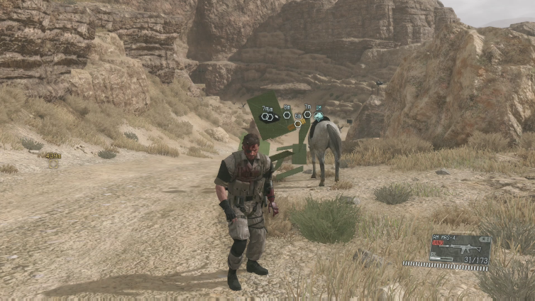 GabrielxSpider playing Metal Gear Solid V: The Phantom Pain