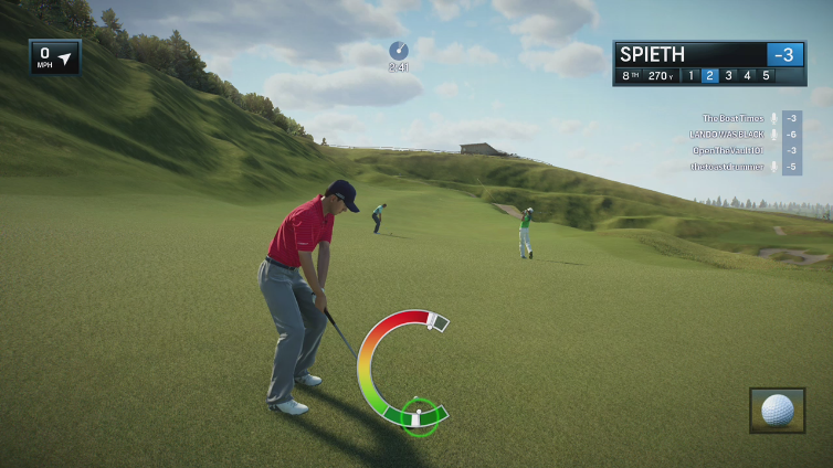 OpenTheVault101 playing EA SPORTS Rory McIlroy PGA TOUR