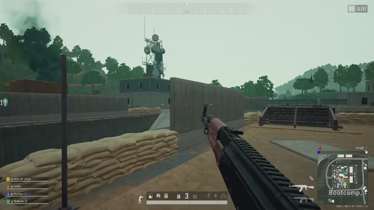 Active playing PlayerUnknown's Battlegrounds